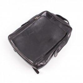 Dámský batoh Genuine leather černý