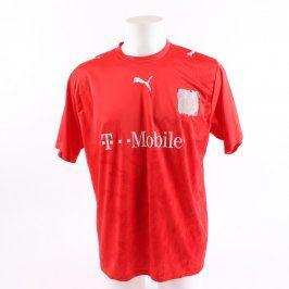 Fotbalový dres Puma červený pánský