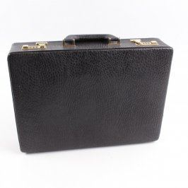 Pánský koženkový kufřík zamykací