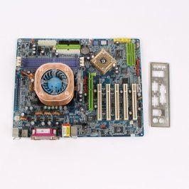 Základní deska Gigabyte GA-K8NS Pro + Athlon