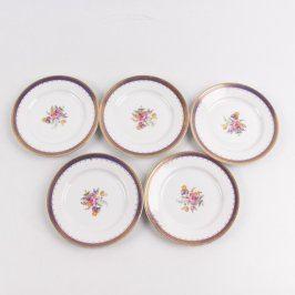 Sada talířů Thun 5 kusů s květinami