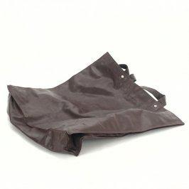 Nákupní taška koženková černá