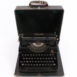 Kufříkový psací stroj Olympia Simplex