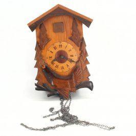 Nástěnné hodiny s kukačkou motiv tetřeva