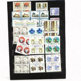 Známkový arch a sbírka známek NDR