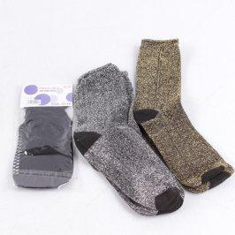 Mix dámských ponožek 3 páry