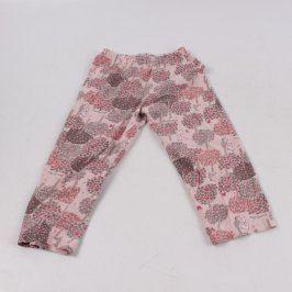Dětské kalhoty od pyžama Betty růžové