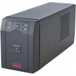 Záložní zdroj APC Smart-UPS SC 420VA černá
