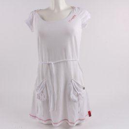 Dámské šaty Brunotti bílé s kapsami