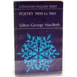 Antologie Poetry 1900 to 1965