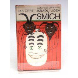 Dětská knížka Jak čerti ukradli lidem smích