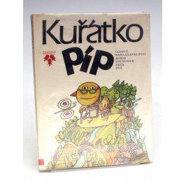 Dětská knížka Boris Zachoder - Kuřátko Píp