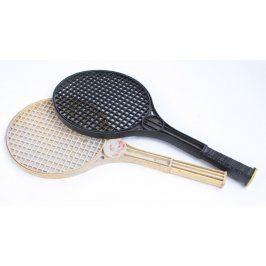 Rakety na soft tenis černá a béžová