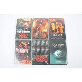 6 amerických filmů na DVD