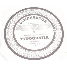 Dimensátor Typografia Praha