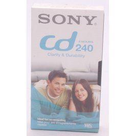 VHS kazeta Sony cd 240