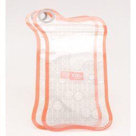 2x průhledný sáček na mobil