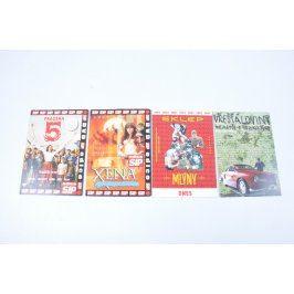 4 DVD filmy různé žánry