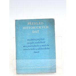 Brožura: Přehled historických dat