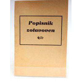 Brožura: Popisník zotavoven