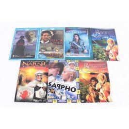 Mix filmů na DVD 7 kusů