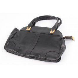 Dámská kabelka na zip do ruky černá