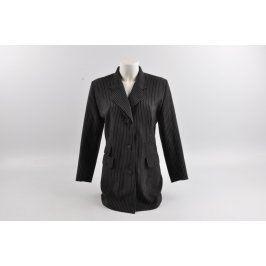 Dámské prodloužené sako černé