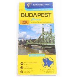 Mapa Budapešť