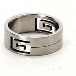 Ocelový prsten s výřezem 20 mm