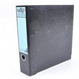 Pořadač na dokumenty A4 Kast černý