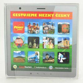 Dětská knížka: Cestujeme hezky česky